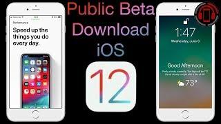 iOS 12 Public Beta Download & Installation [Deutsch/German]