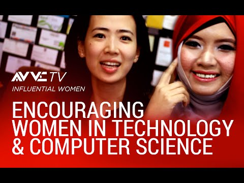 Encouraging Women in Technology & Computer Science: Ollie Salsabeela & Dea Surjadi