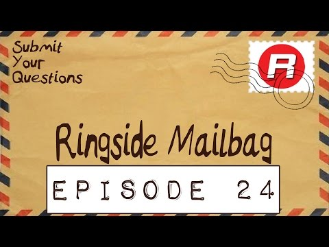 RINGSIDE MAILBAG! Episode 24 - Answering Your Questions about WWE Toy Wrestling Action Figures!
