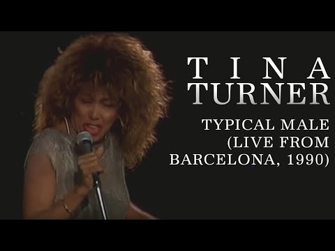 Tina Turner - Typical Male (Live)