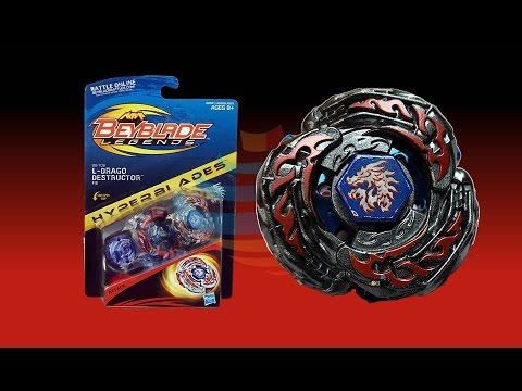 Beyblade Legends Hyperblades L-Drago Destructor F:S- BB-108 Unboxing Review Giveaway Exp Sep 7th