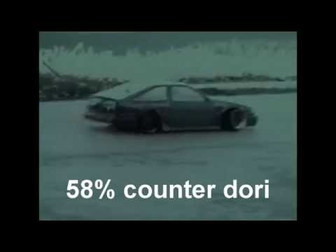Project Hpi Sprint 2-CD (counter-steer drift) 58% cs rc drift test run 5/11/10