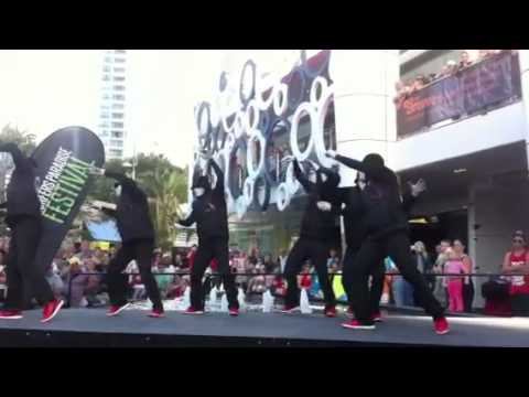 Jabbawockeez at the surfers paradise festival