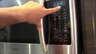 01. How To Use An Over-The-Range Microwave-FULL Tutorial