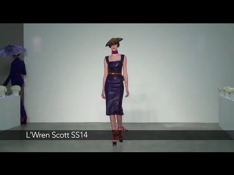 L'Wren Scott London Fashion Week show: L'Wren Scott SS14 Collection