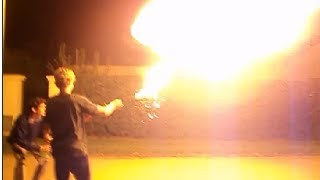 Lanzallamas Casero / Homemade Flamethrower