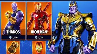 AVENGERS ENDGAME! LTM in Fortnite With super hero skins!