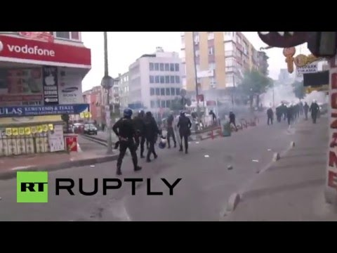Turkey: Police kill 1 as May Day protests escalate in Istanbul