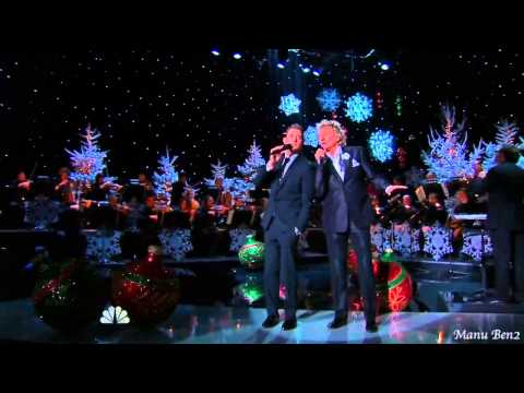 Michael Bublé & Rod Stewart  -  Winter Wonderland (2012) video