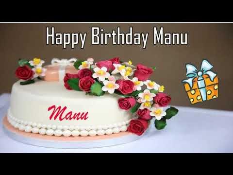 Happy Birthday Manu Image Wishes✔