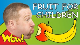 Fruit for Children | Steve and Maggie | English for Kids | ESL English Stories