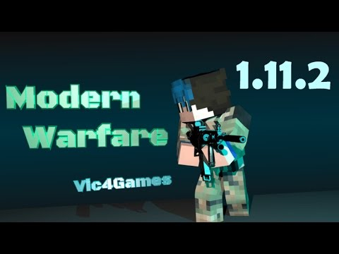 Top1mc - Modern Warfare Mod 1.11.2/1.10.2 - Minecraft Installation & Review