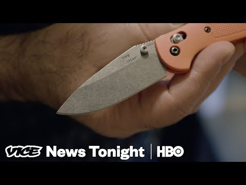 """Why The """"NRA Of Knives"""" Is Fighting To Combat This Knife Law  (HBO)"""