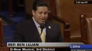 Rep. Lujan Discuss the Importance of Passing the American Clean Energy and Security Act