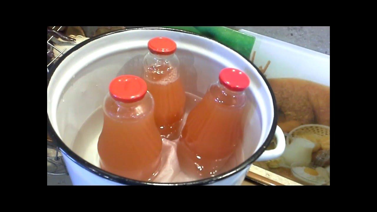 Как сделать сок из яблоки на зиму 97