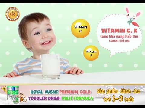 Sữa hoàng gia số 3 – sữa miễn dịch hoàng gia Úc dành cho trẻ từ 1-3 tuổi