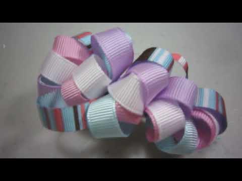 Episodio 520-Cómo hacer un gancho para pelo con cintas gro