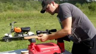 Shooting my Thompson Center Semi-Auto Rifle