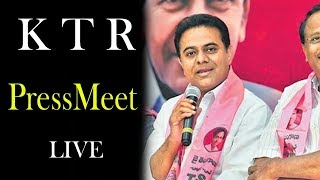 LIVE | Meet the Press Program with TRS Working President KTR |  TopTeluguMedia