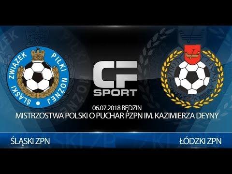 Skrót Meczu: Śląski ZPN - Łódzki ZPN 06.07.2018