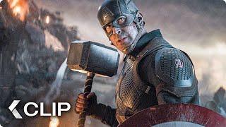 Cap Grabs Thor's Hammer Scene - AVENGERS 4: Endgame (2019)