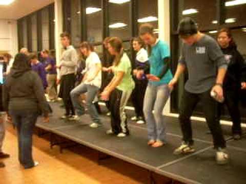 Band Kids Dancing To Cupid Shuffle video