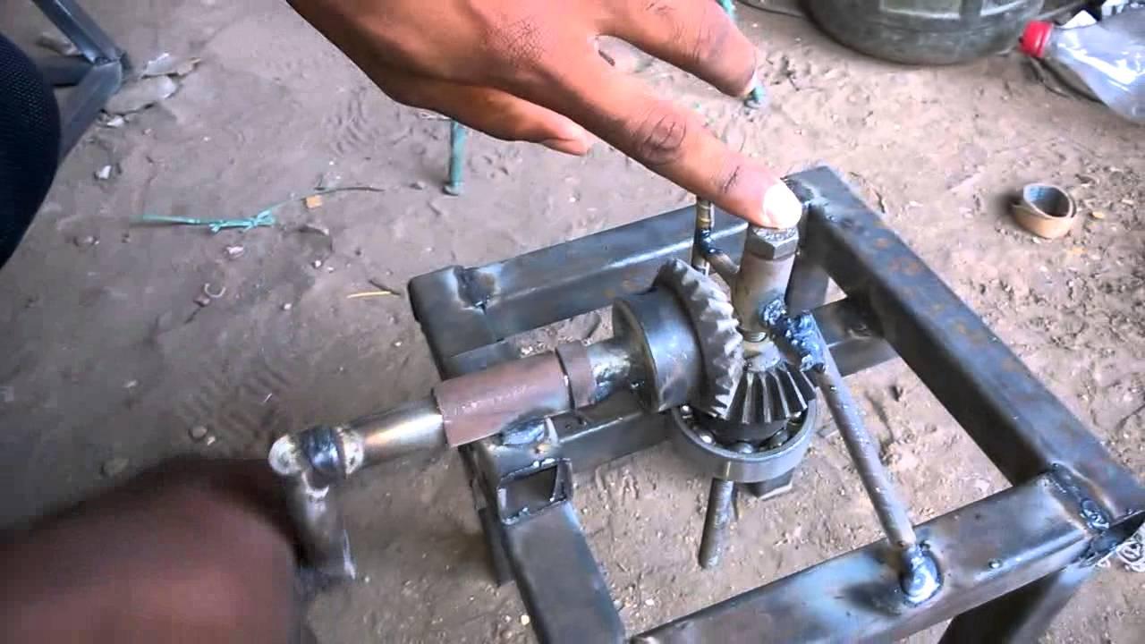 Quick Lifting Jack With Bevel Gear Arrangement Mechanical
