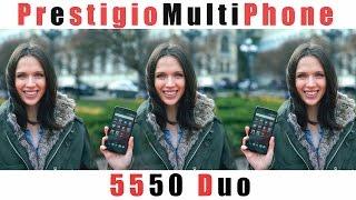 Prestigio MultiPhone 5550 Duo: обзор смартфона