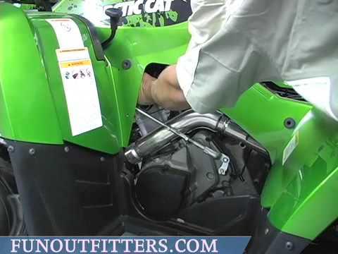 Yamaha Grizzly  Spark Plug Change