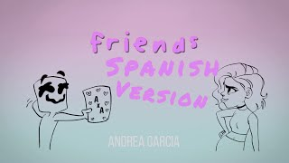 Download lagu Marshmello - FRIENDS (Spanish version) - Cover en Español (Lyrics) *HIMNO OFICIAL DE LA FRIENDZONE *