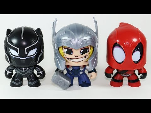 Marvel Muggs Black Panther Thor Deadpool