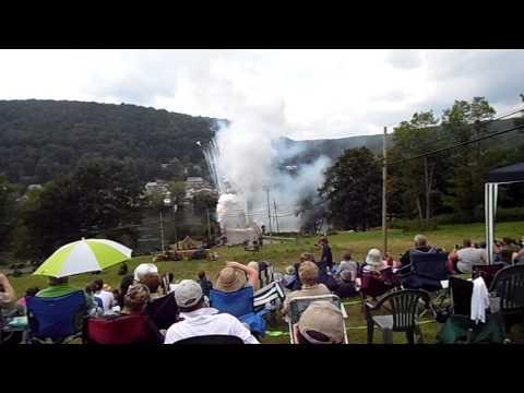 Remagen reenactment bridge explosion