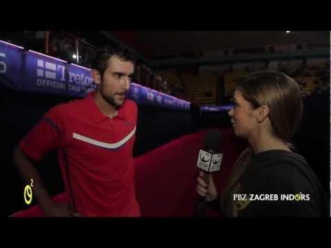 PBZ ZAGREB INDOORS: Marin Cilic looks forward to showdown with Blaz Kavcic