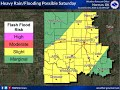 Flooding Potential - Thur, October 4th 2018