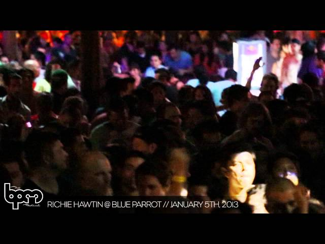 THE BPM FESTIVAL 2013: Richie Hawtin @ Blue Parrot