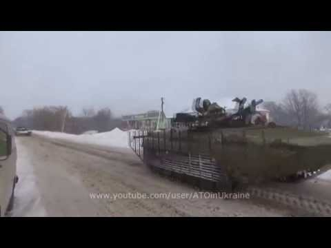 Battle for Donetsk Airport: Ukrainian forces open fire on insurgent positions near Donetsk airport