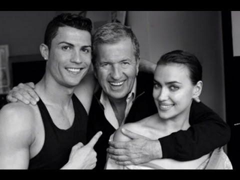 Cristiano Ronaldo e Irina Shayk se desnudaron para el lente de Mario Testino