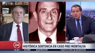 """Expresidente Frei: La Universidad Católica y el Ejército """"nunca ayudaron en nada"""""""