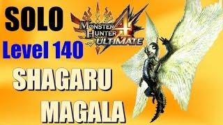 Monster Hunter 4 Ultimate: SOLO Lv. 140 Guild Shagaru Magala (Sword & Shield)