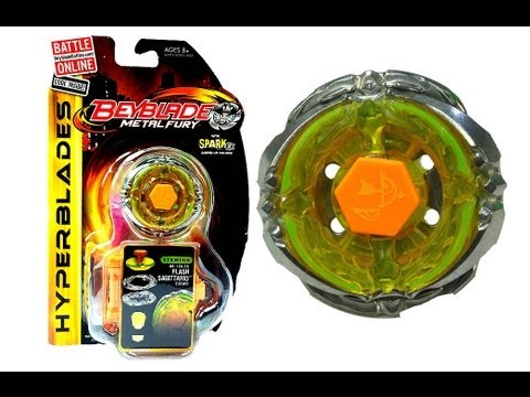 (CLOSED)Beyblades Metal Fury Hyperblades  Flash Sagittario Unboxing + Giveaway Exp Jan 27 2013