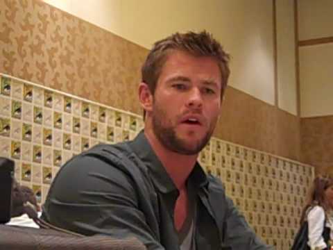 Chris Hemsworth Discusses THOR