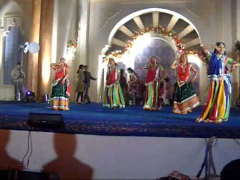 Masti Makers Dance Group Of Pali (raj.) Performing Rajasthani Ghoomer In Kolkata video