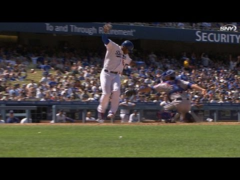 Mets throw Puig out to complete triple play