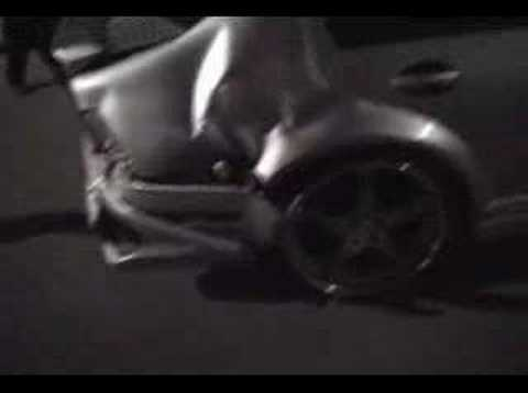 Toyota Mr2 Crashing video