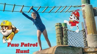 Paw Patrol Hunt with the Assistant on the Ocean at Castaway Cay with PJ Masks