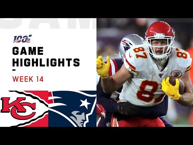 Chiefs vs. Patriots Week 14 Highlights | NFL 2019 thumbnail