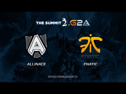 Alliance vs Fnatic The Summit Europe Day Last game 3