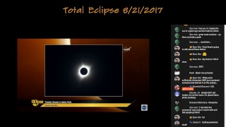 Total Eclipse 8/21/2017 NASA Re-stream Live with Live Chat