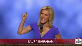 FULL SPEECH: Laura Ingraham BRINGS DOWN THE HOUSE at RNC in Cleveland (7-20-16)