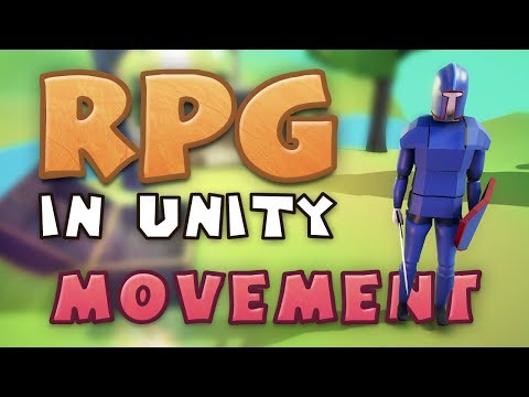 Movement Making An Rpg In Unity E01
